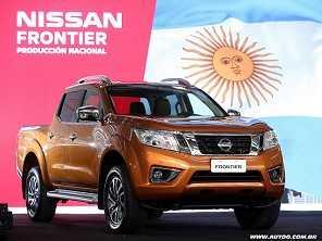 Nissan Frontier produzida na Argentina chega ao Brasil até o fim do ano