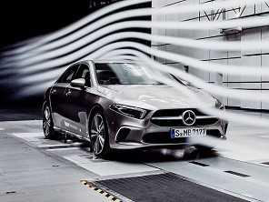 Novo Classe A Sedan será o carro mais aerodinâmico do mundo