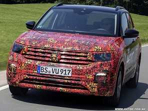 Volkswagen T-Cross pode ser revelado em outubro