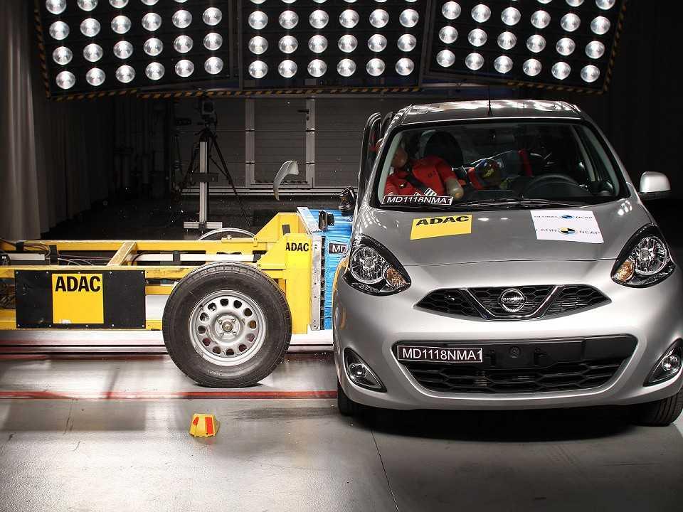 Nissan March é reavaliado pelo Latin NCAP