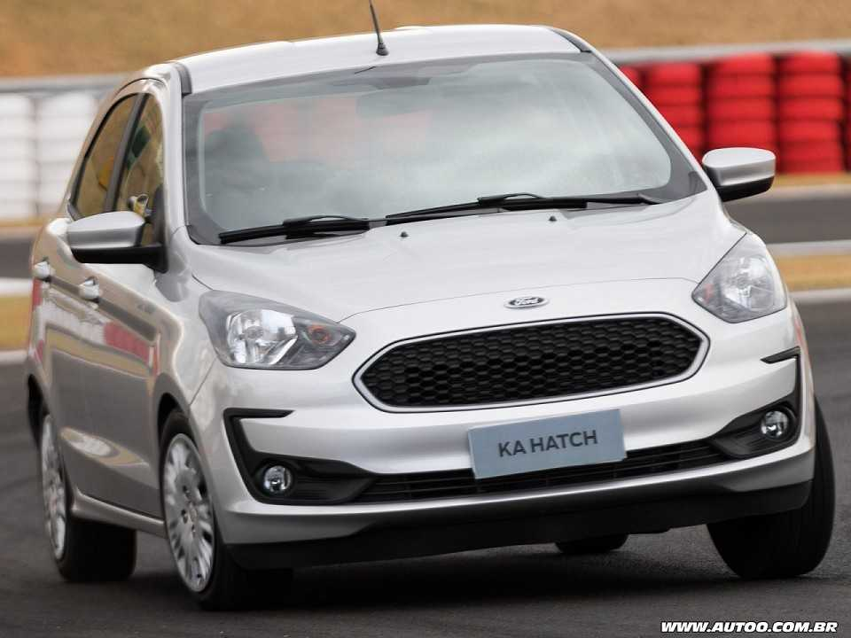 Ford Ka 2019 - ângulo frontal