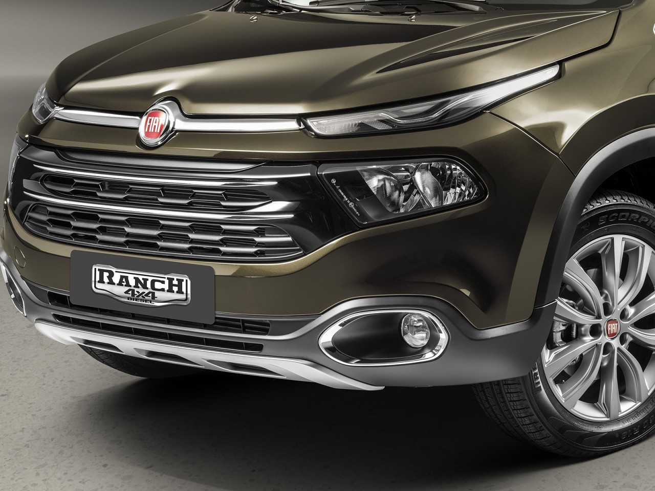 FiatToro 2019 - grade frontal