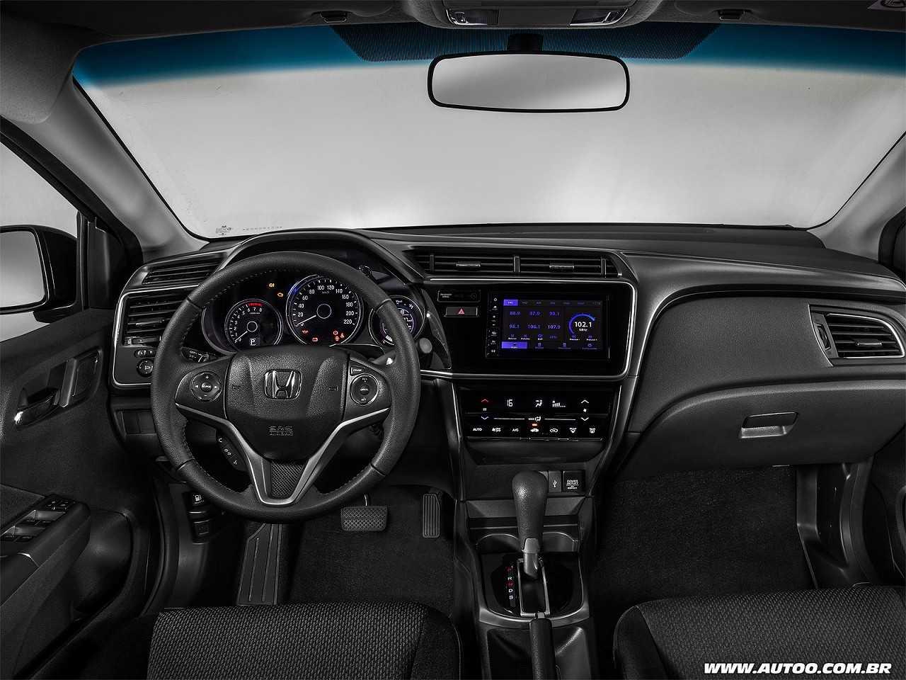HondaCity 2019 - painel