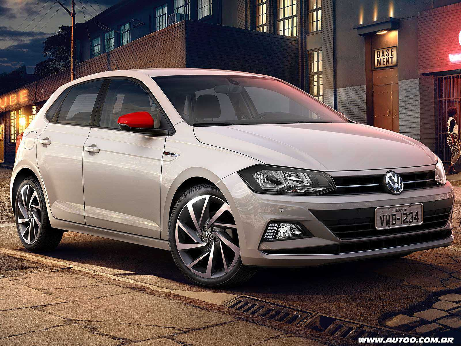 VolkswagenPolo 2019 - ângulo frontal