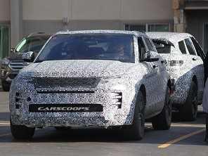 Previsto para este ano, novo Range Rover Evoque manterá estilo
