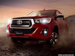 Cinco décadas e oito gerações: a trajetória de sucesso da Toyota Hilux
