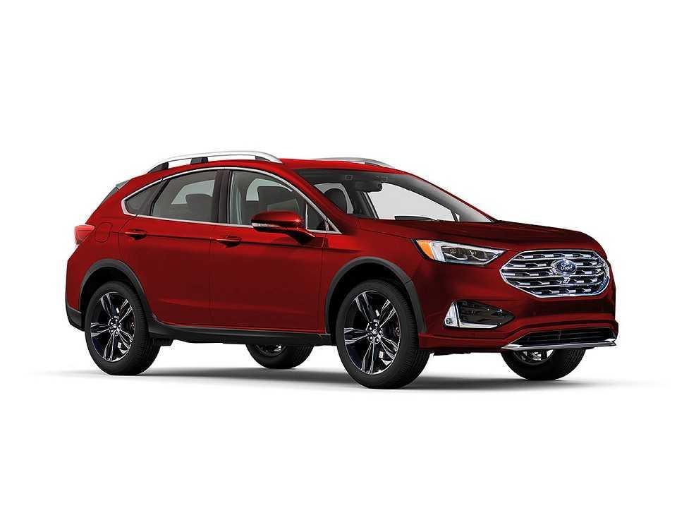 Projeção do designer Kleber Silva antecipando como ficará o novo Ford Fusion nos EUA