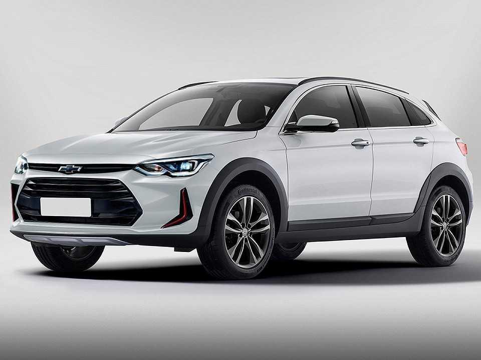 Projeção do futuro SUV-cupê que a Chevrolet pode lançar no Brasil