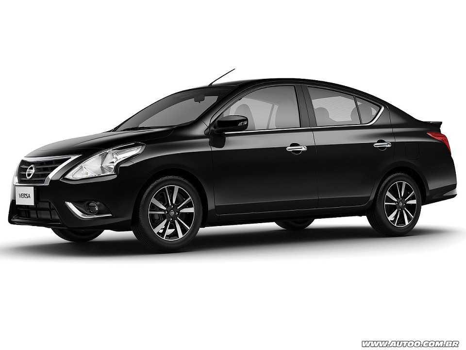 NissanVersa 2019 - ângulo frontal