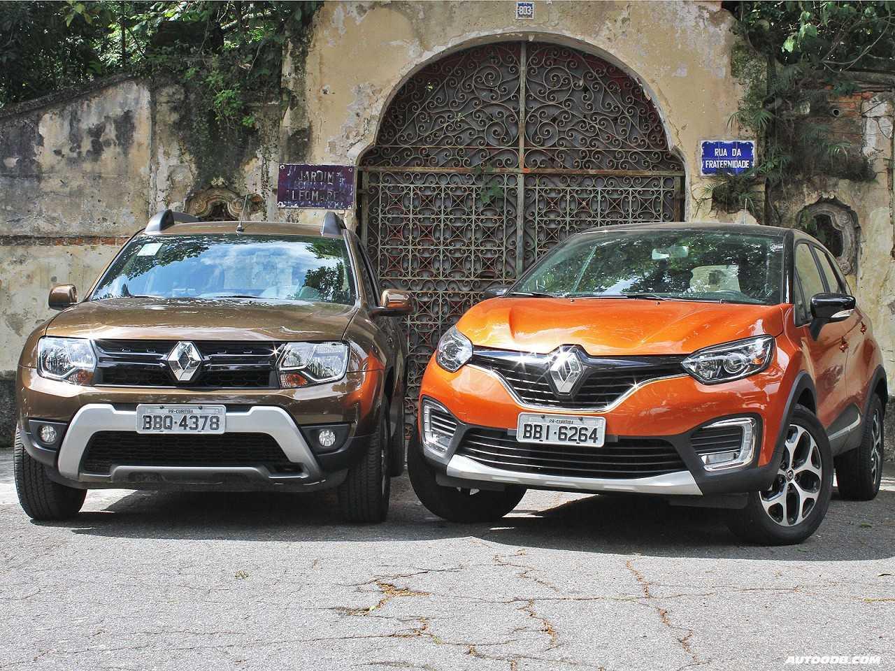 Renault Duster e Renault Captur