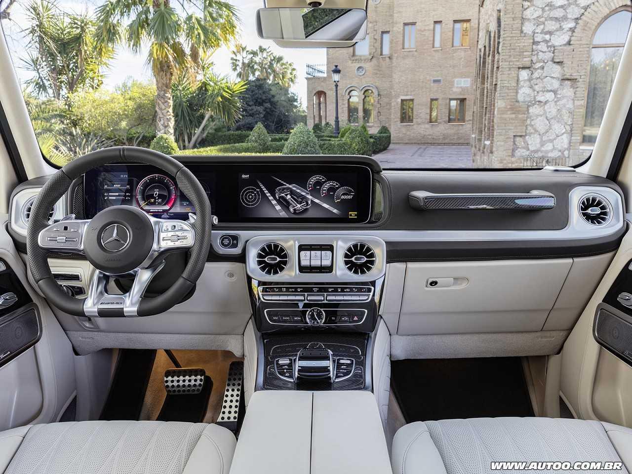 Mercedes-BenzClasse G 2019 - painel