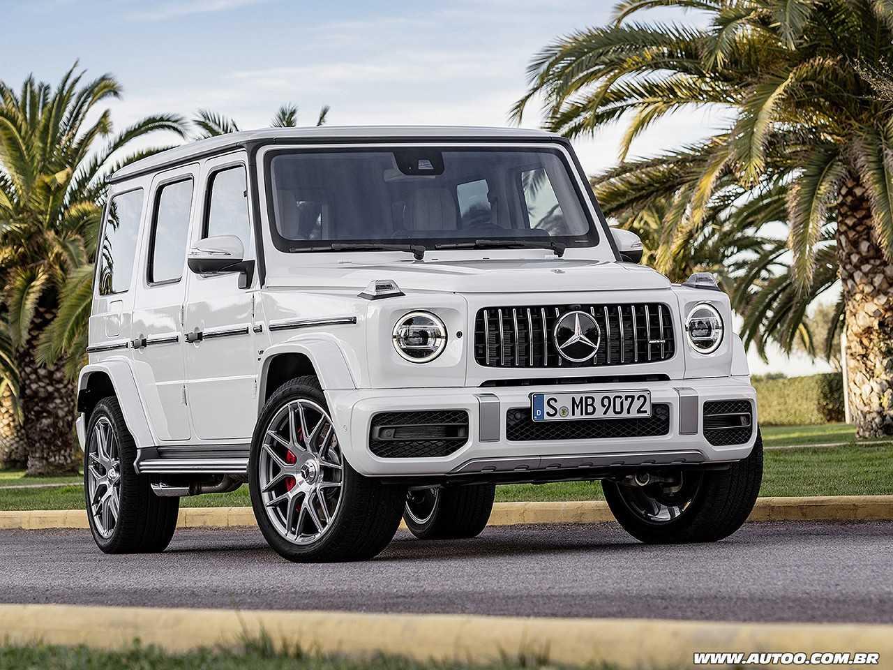 Mercedes-BenzClasse G 2019 - ângulo frontal