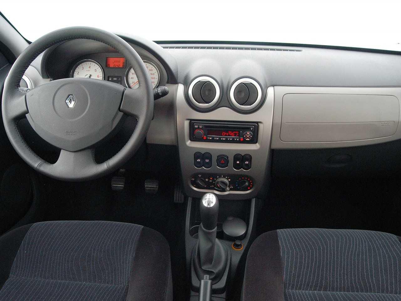 RenaultSandero 2007 - painel