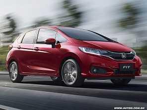 Quarta geração do Honda Fit deve estrear em 2020