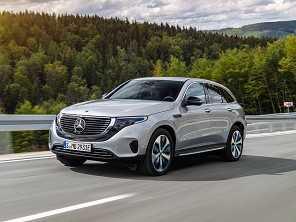 Mercedes-Benz inicia venda do elétrico EQC no Brasil
