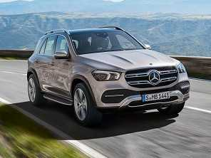 Nova geração do Mercedes-Benz GLE é antecipada na Europa
