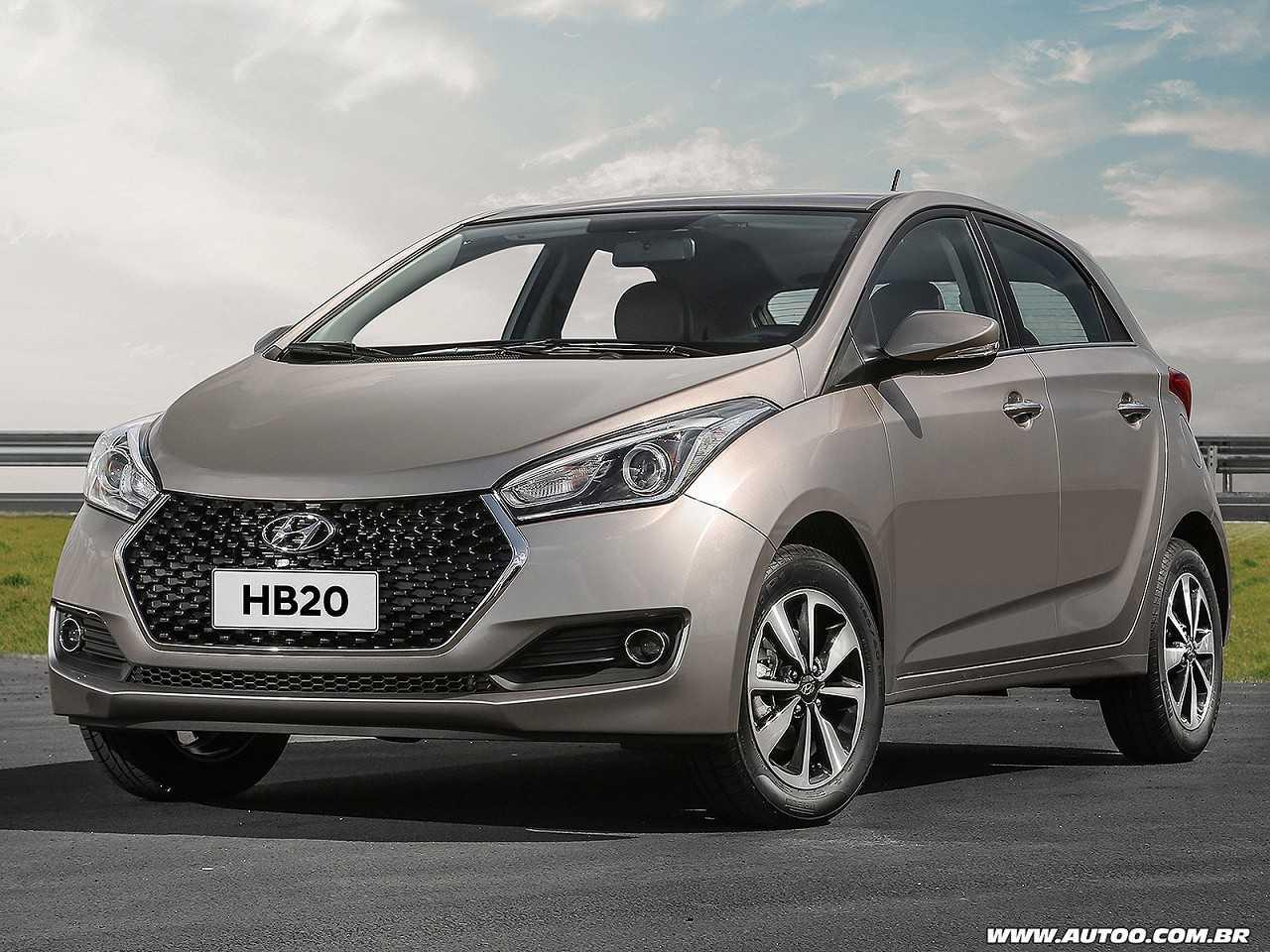 HyundaiHB20 2019 - ângulo frontal
