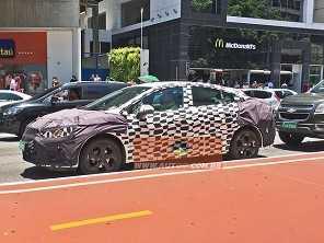 Chevrolet Cruze com facelift já ''desfila'' no Brasil