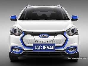 JAC confirma a estreia do iEV 40 no Brasil em junho