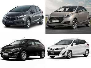 Hyundai HB20, Chevrolet Onix, Honda Fit ou um Toyota Yaris?