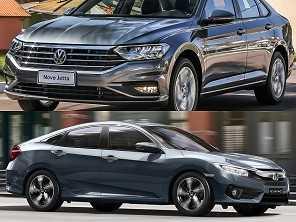 Honda Civic EXL ou um VW Jetta Comfortline?