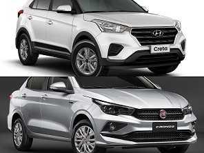 Compra PcD: Fiat Cronos ou um Hyundai Creta?