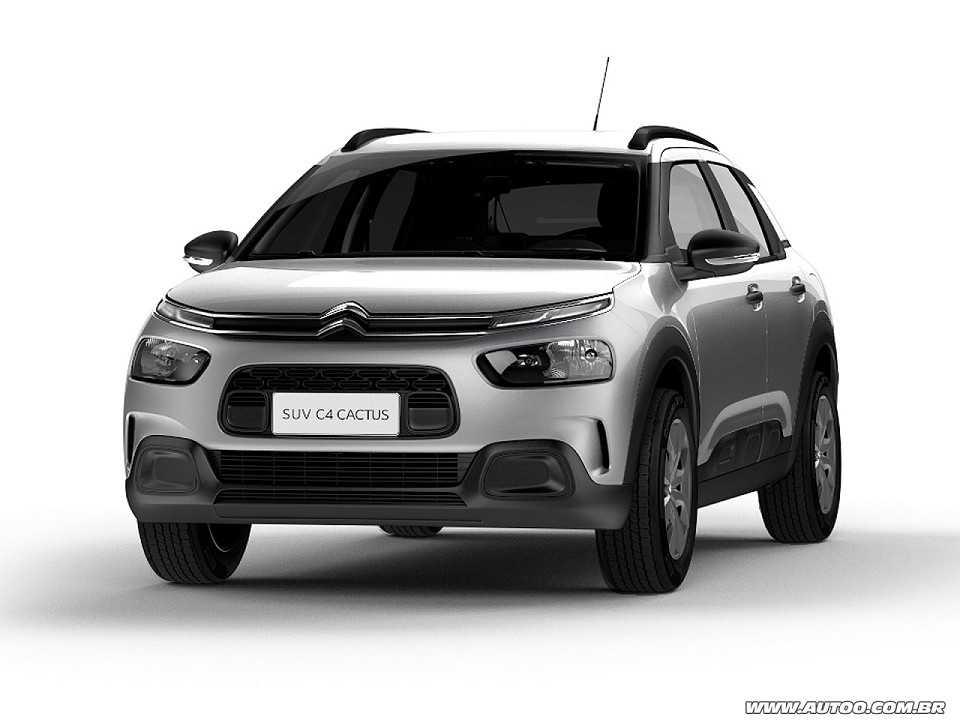 Acima o Citroën C4 Cactus Feel Business, a versão do modelo destinada ao público PcD