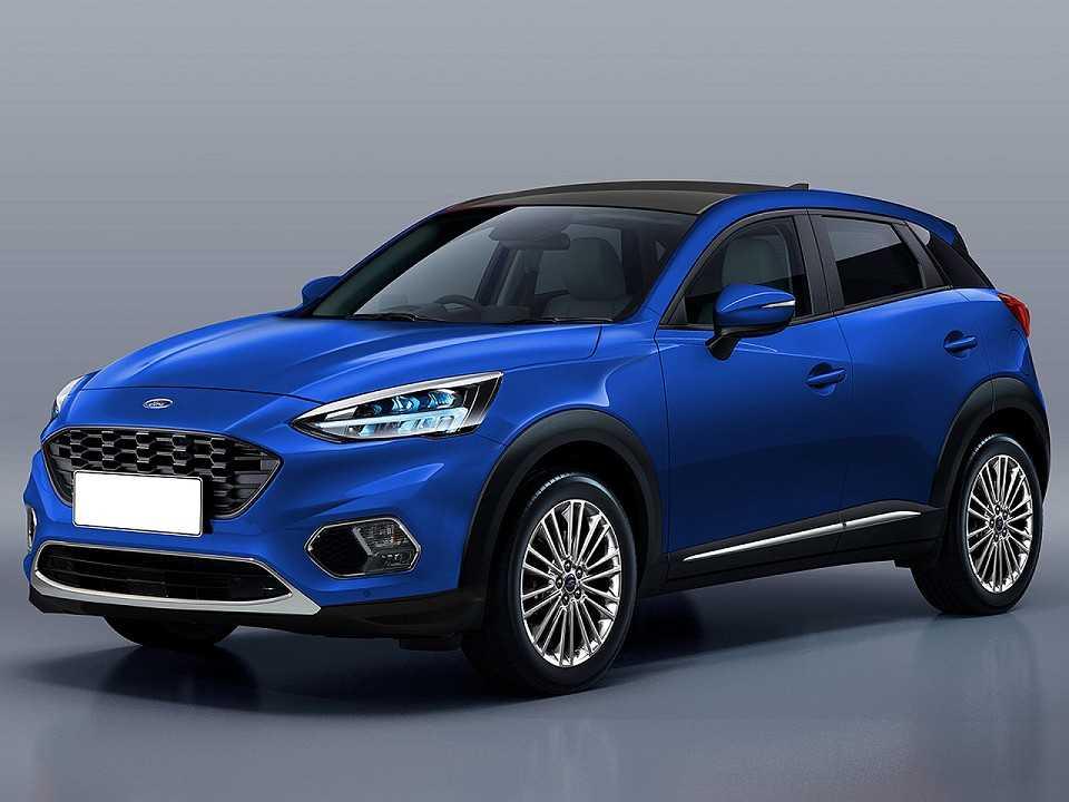 Projeção do designer Kleber Silva antecipando a próxima geração do Ford EcoSport