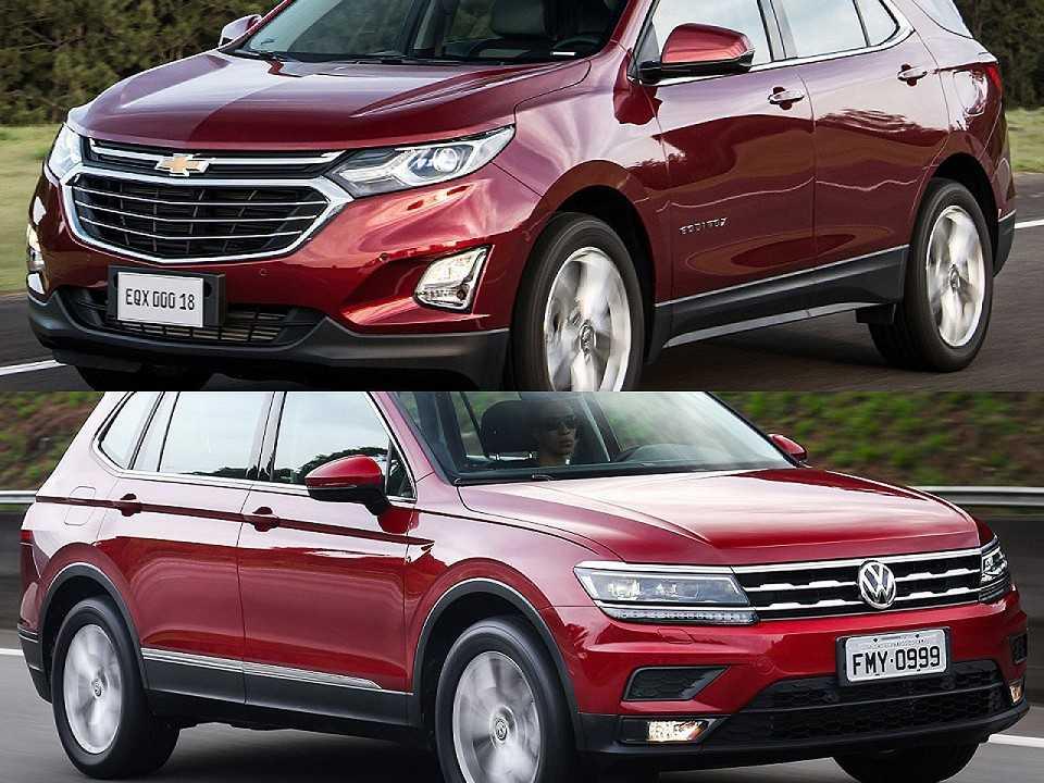 Chevrolet Equinox e Volkswagen Tiguan Allspace