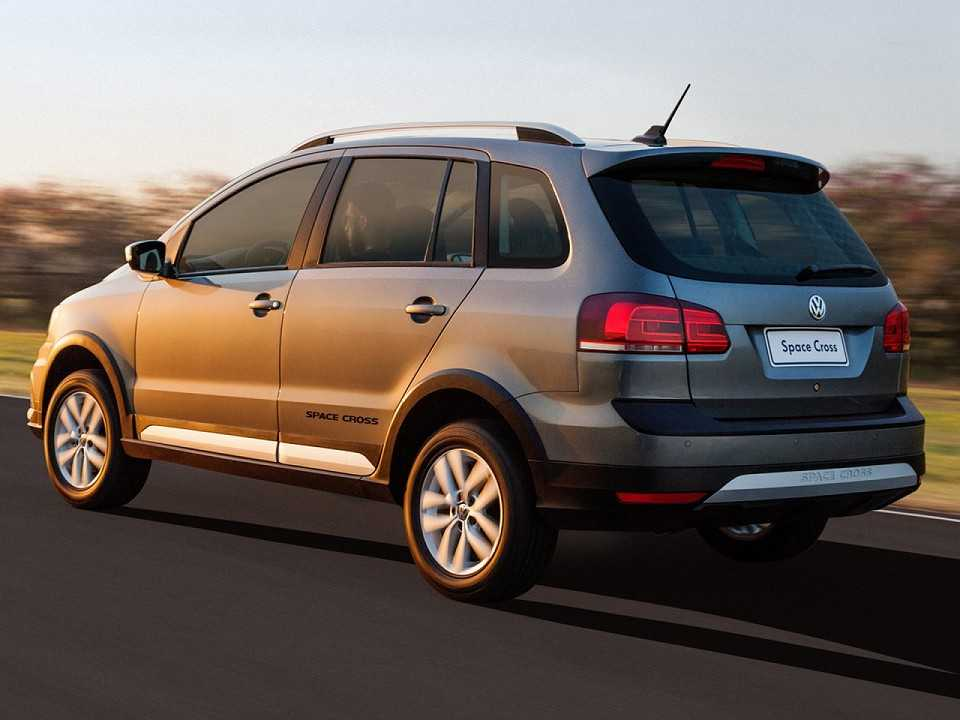 Volkswagen Space Cross 2016