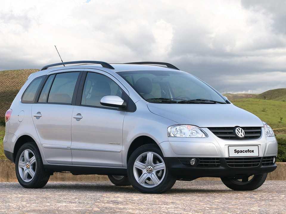 VolkswagenSpaceFox 2006 - ângulo frontal