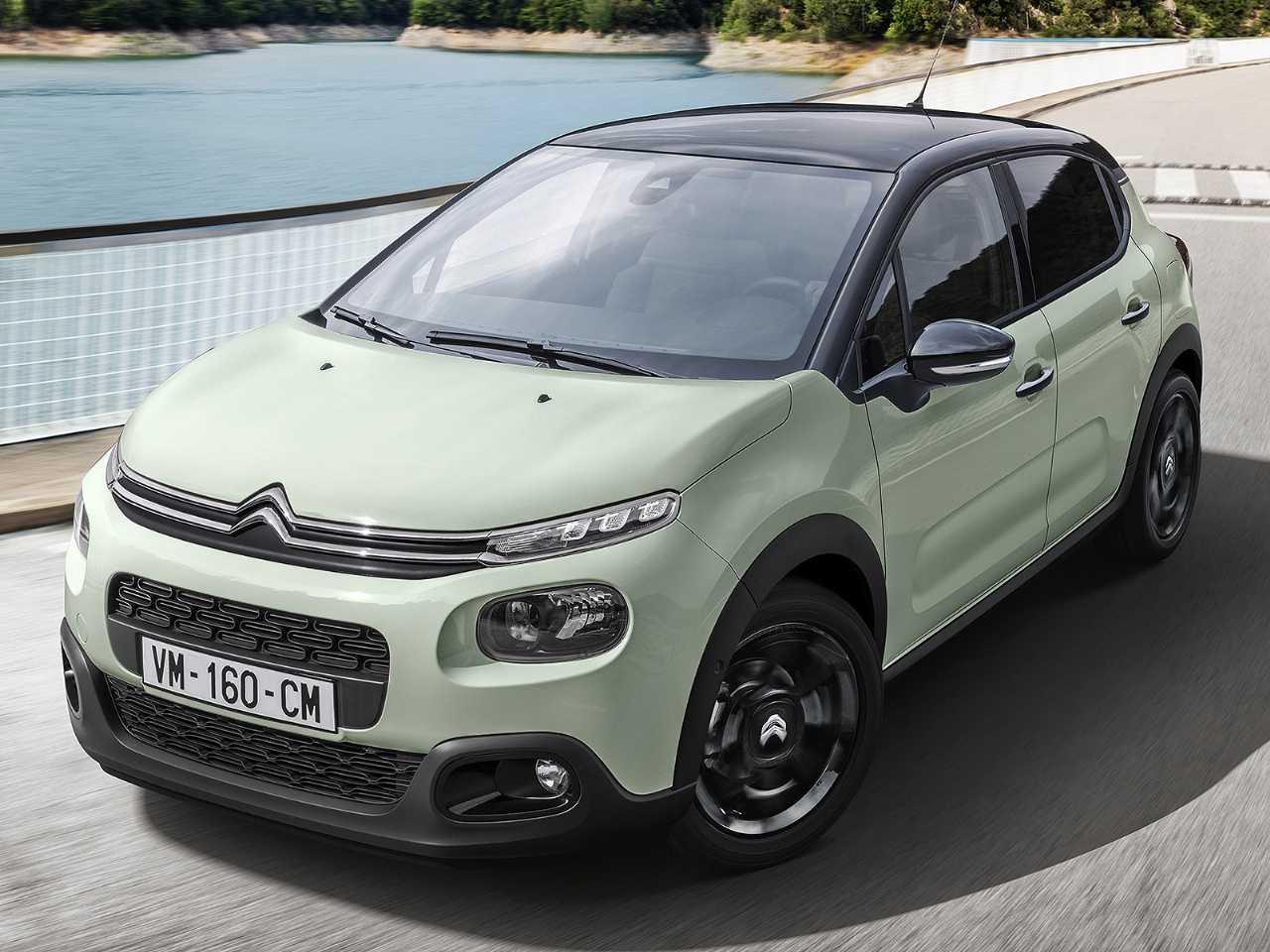 Acima o atual Citroën C3 vendido na Europa: nova geração estreia em 2020