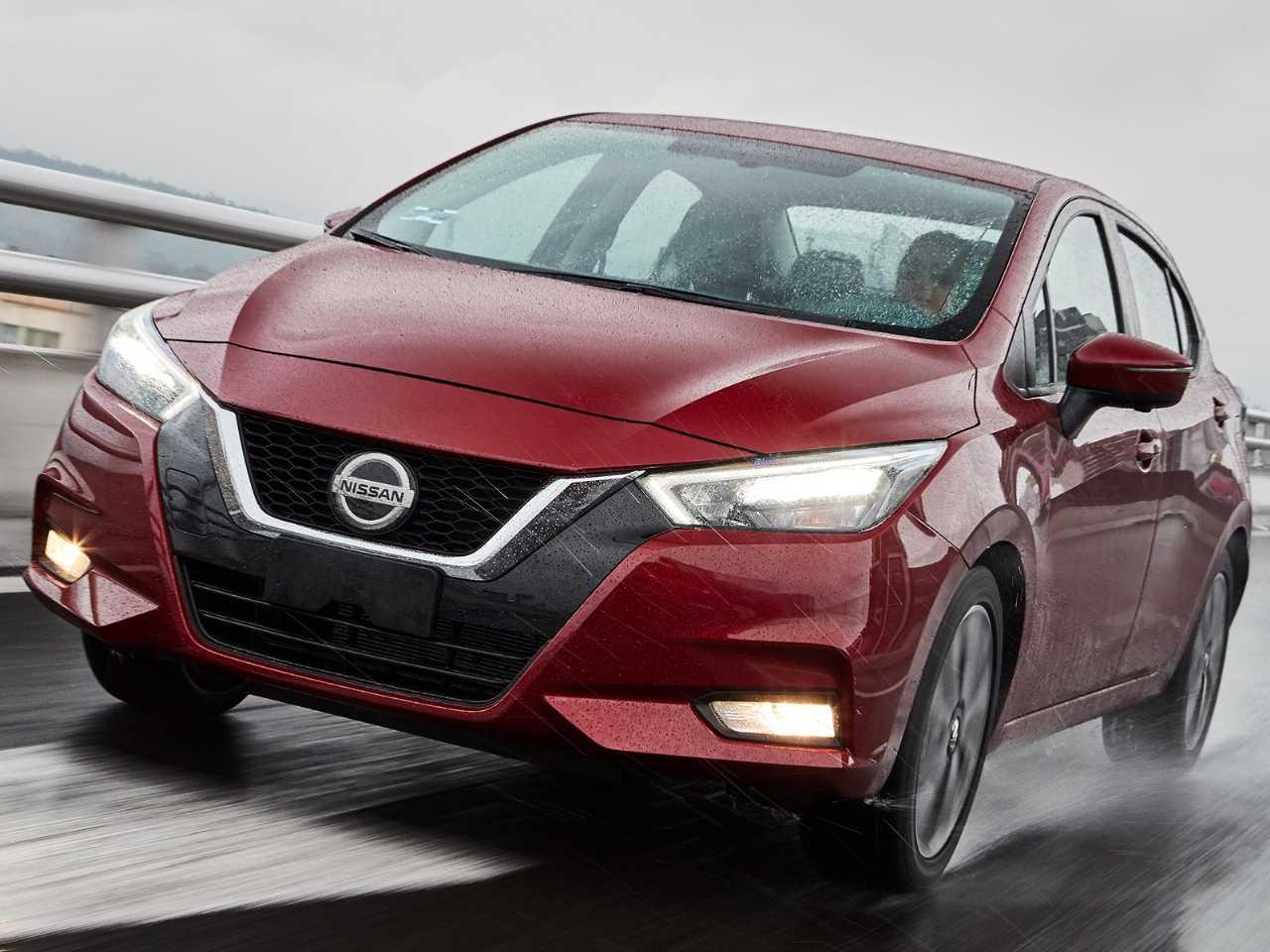 Nova geração do Nissan Versa, que estreia no Brasil em 2020