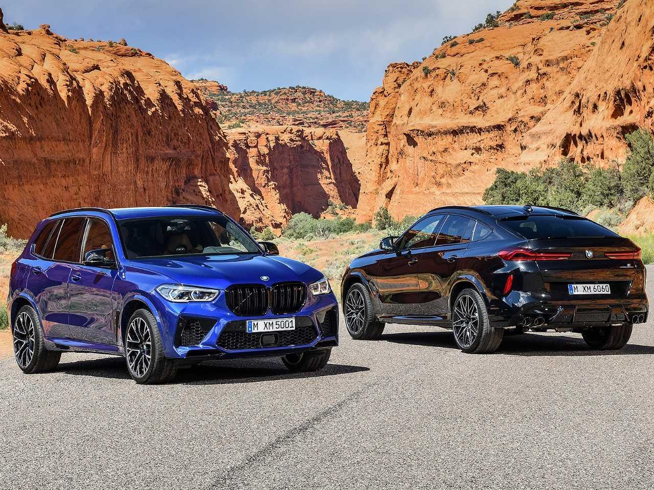 Os novos BMW X5 M e X6 M