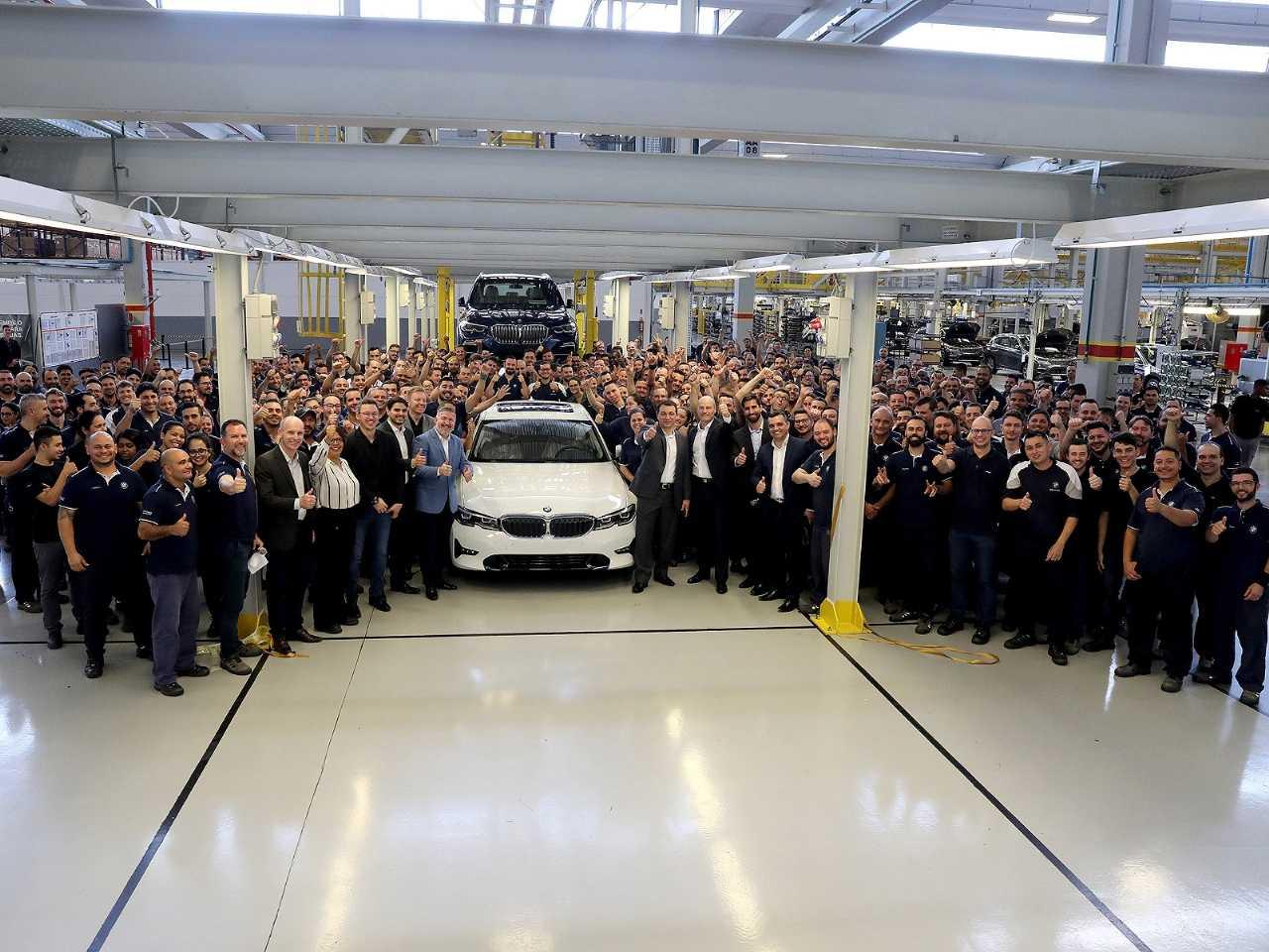 Celebração dos cinco anos da fábrica da BMW em Araquari (SC)