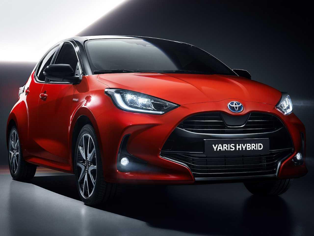 Nova geração do Toyota Yaris europeu em sua configuração híbrida