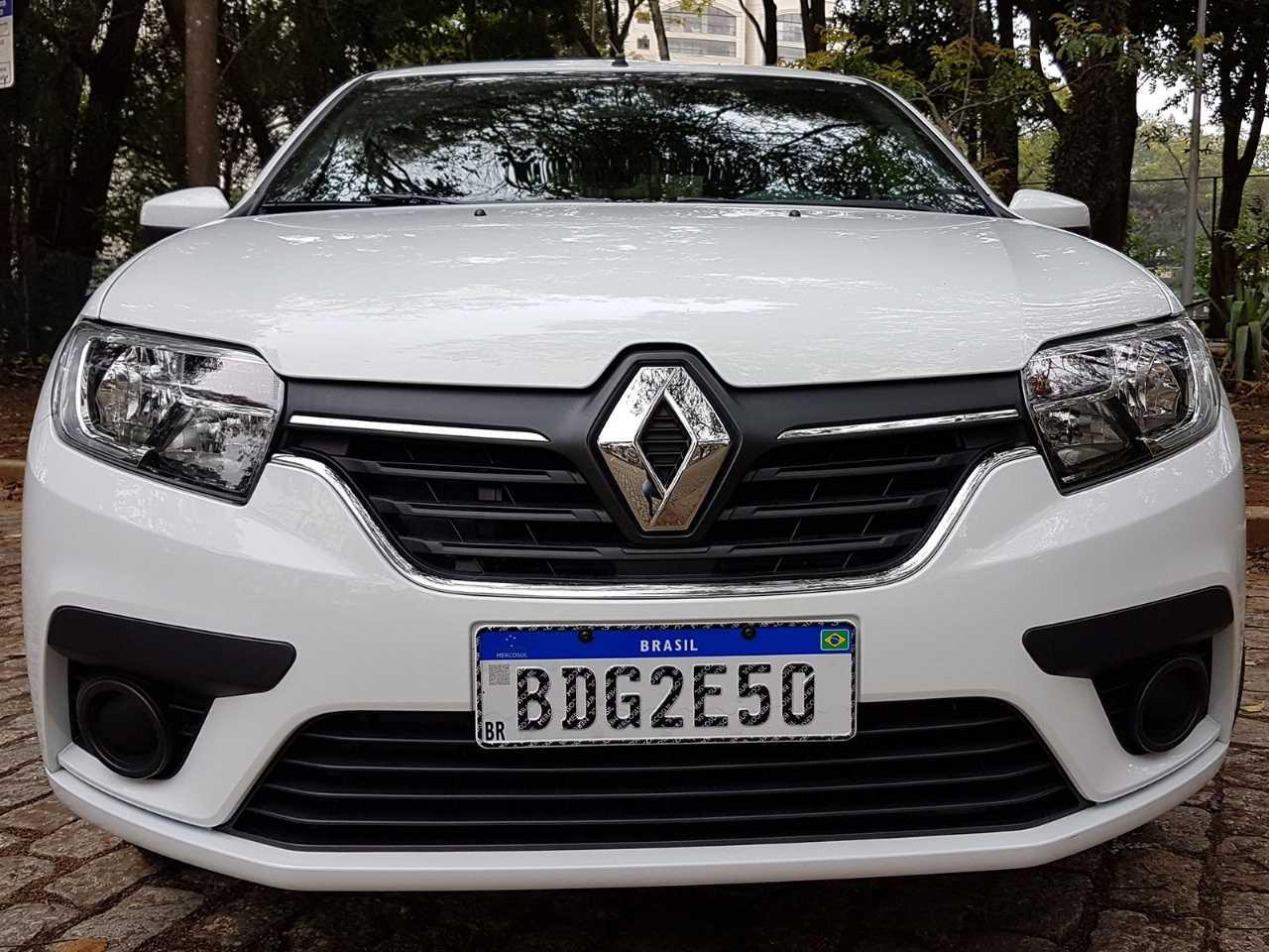 RenaultSandero 2020 - frente