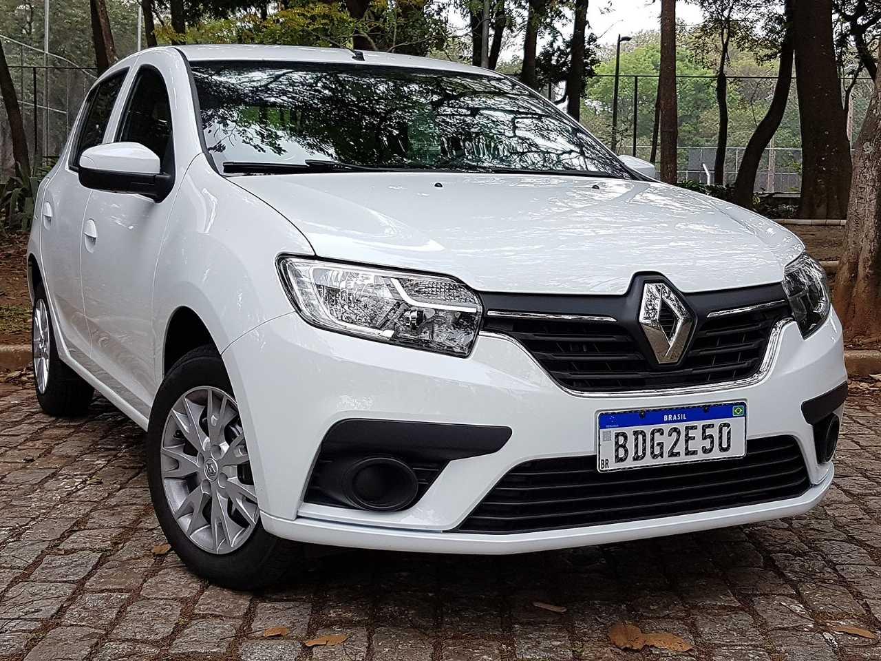 RenaultSandero 2020 - ângulo frontal