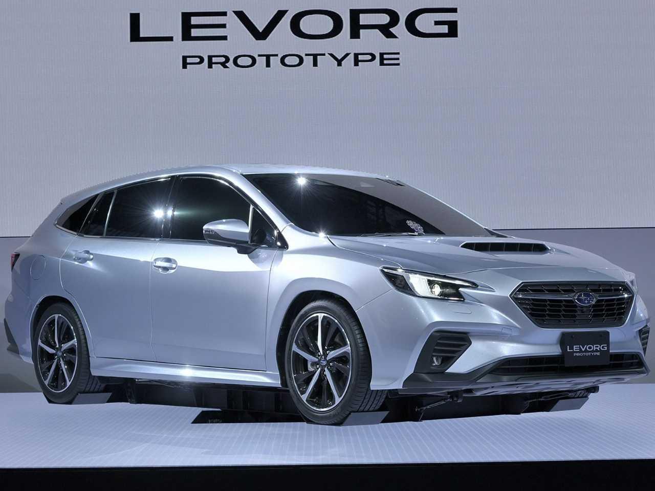 Protótipo da nova geração do Subaru Levorg revelado no Salão de Tóquio