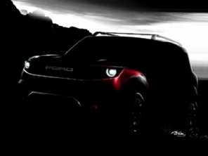 Ford Bronco Sport, modelo cotado para o Brasil, terá estreia global em abril deste ano