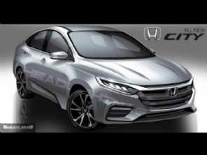 Assim como o Fit, nova geração do Honda City também deve ser apresentada neste ano