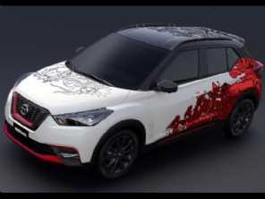 Nissan cria conceito para comemorar três anos do Kicks na região