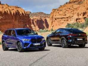 BMW revela a terceira geração do X5 M e X6 M