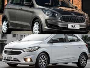 Procurando carro barato: Chevrolet Onix Joy ou um Ford Ka?