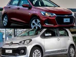 Aguardar o novo Chevrolet Onix 2020 ou comprar um VW up! TSI?