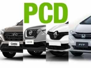 Quais são as versões exclusivas para PCD mais vendidas?