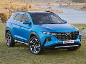 Próxima geração do Hyundai Tucson: coreano imagina o interior do SUV renovado