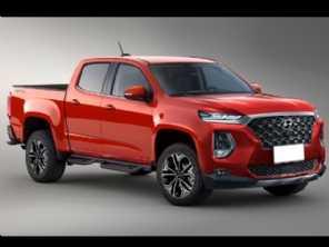 Rival de Hilux e S10, futura picape média da Hyundai pode receber motor diesel avançado