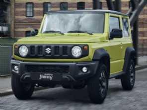 Suzuki confirma três versões para o Jimny Sierra no Brasil