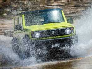Na Índia, Suzuki Jimny pode estrear carroceria 4 portas